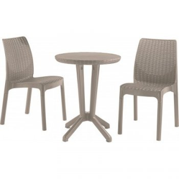 BISTRO SET - cappuchino R35625