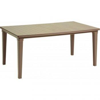 Plastový stůl FUTURA - cappuccino R35581