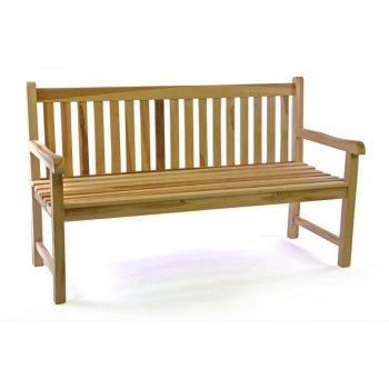 Zahradní lavice masiv DIVERO 3-místná 150 cm D35520