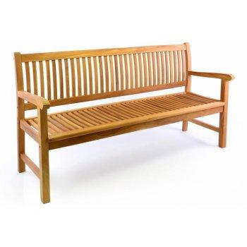 Zahradní lavice DIVERO 3-místná masiv 180 cm D34978