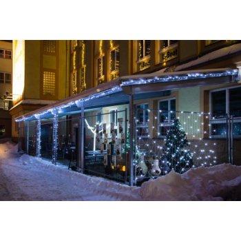 Vánoční LED osvětlení 4 m - teple bílé, 40 LED s časovačem