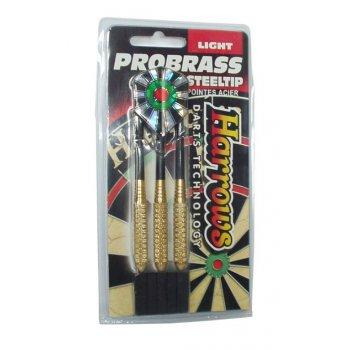 Šipky s kovovým hrotem HARROWS STEEL PROBRASS
