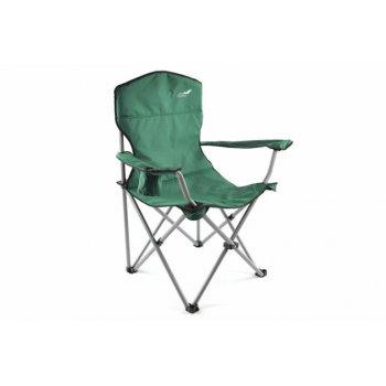 Skládací kempingová židle DIVERO XL - zelená D35106