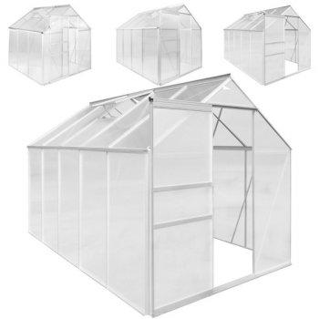 Hliníkový skleník PLANTASIA 190 x 190 x 195 cm 3,6m2 M29963