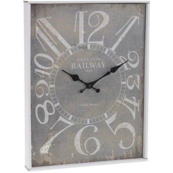 Nástěnné hodiny ANTIK 30 x 39 cm KINGS CROSS