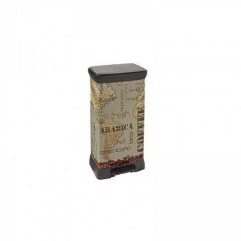 Odpadkový koš DECOBIN 50L - COFFEE CURVER R32826