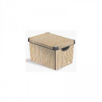 Box DECO - L - Bamboo CURVER R32337