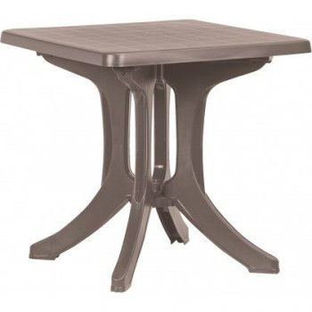 Plastový stůl NAPOLI - cappuccino R35578