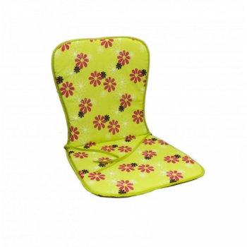 Sedák SAMOA - zelený s květy