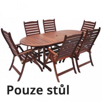 Dřevěný stůl MARINA R35319