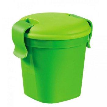 Plastový hrnek Lunch & go - S - zelený CURVER R36473