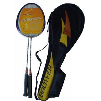 Badmintonová sada - 2 pálky ALU + košíček