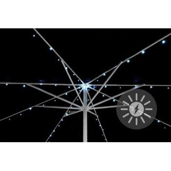 Solární blikající řetěz pro osvětlení slunečníku - 72 LED D36958