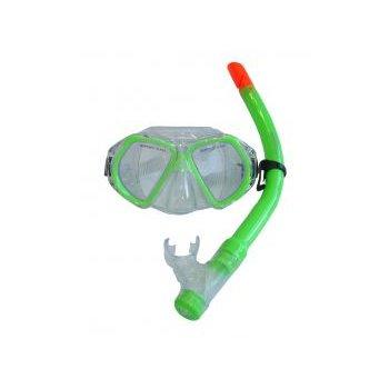 Dětská potápěčská sada - zelená AC37026