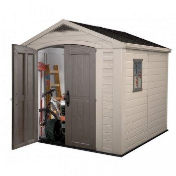 Zahradní plastový domek FACTOR 8x8 R35701