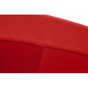 Potah pro vysoký stůl - elastický, vínově červený 80 x 80 x 110 cm