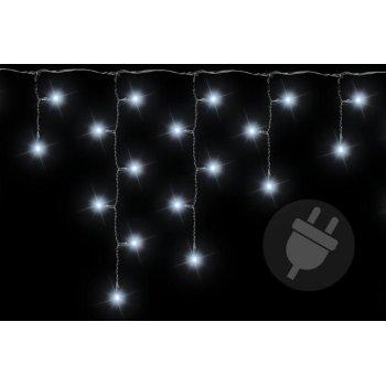Vánoční světelný déšť 200 LED studená bílá - 4 m D38534