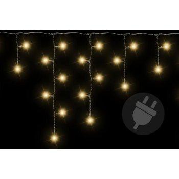 Vánoční světelný déšť 200 LED teple bílá - 4 m D38532