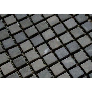 Mramorová mozaika Garth - šedá obklady 1 m2 D00794