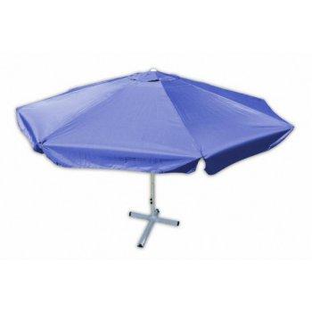 Slunečník s klikou Garth - modrý, 4 m D00910