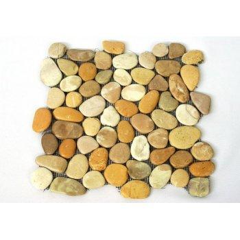 Mozaika Garth říční oblázky - obklady 30 x 30 cm D27456