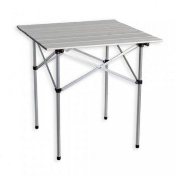Zahradní hliníkový skládací stůl 70 x 70 cm M01510
