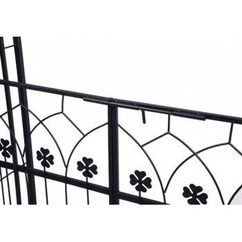 Zahradní oblouk na růže Garth s dvířky