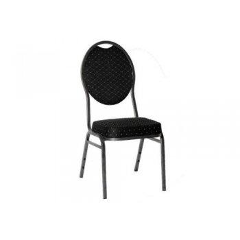 Kvalitní židle kovová Monza - černá ABC01145