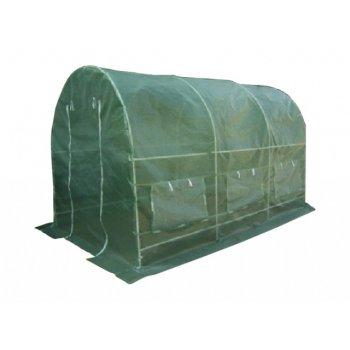 Fóliovník Gardenay transparentní zelená 190 x 200 x 450 cm D01179