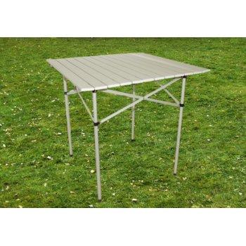 Zahradní hliníkový skládací stůl 70 x 65,5 x 70 cm D01207