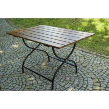 Dřevěný skládací zahradní stůl WEEKEND FSC R06510
