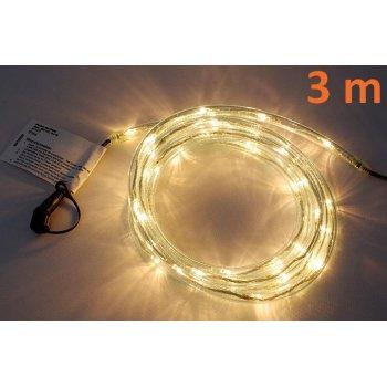 diLED světelný kabel - 40 LED teple bílá D02153