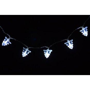 Vánoční osvětlení - vánoční stromky - studeně bílý D01368