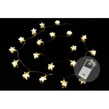 Vánoční osvětlení - hvězda - teplé bílé D02207