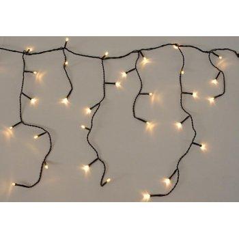 diLED světelný déšť - 180 LED teple bílá D02178