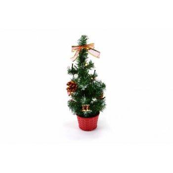 Vánoční stromek s osvětlením 40cm D33495