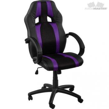Kancelářská židle MX-Racer Stripes černá/fialový M39169