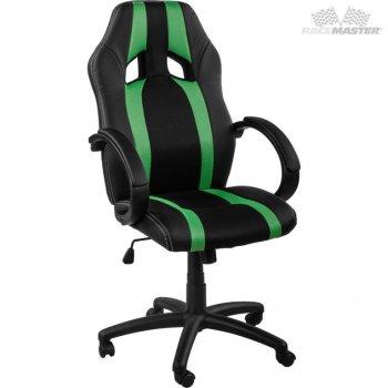 Kancelářská židle MX-Racer Stripes černá/zelený M39168