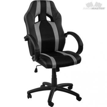 Kancelářská židle MX-Racer Stripes černá/šedý M39166