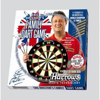 Sada terč a 6 ks šipek HARROWS Family Dart Game AC39374