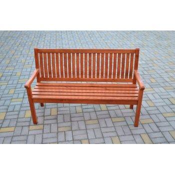Zahradní lavice BOSTON sv.hnědá FSC R02740
