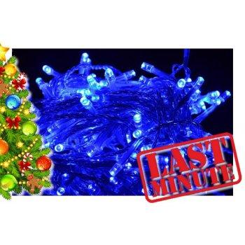 Vánoční LED osvětlení 18 m - modré, 200 diod D00809
