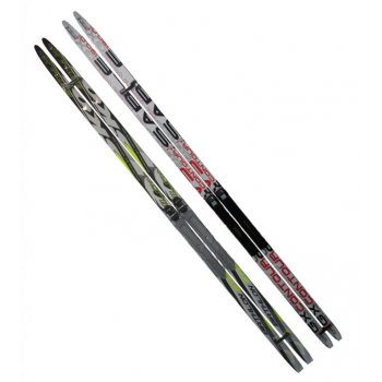 Běžecké lyže s vázáním NNN - 170 cm, hladké AC05429