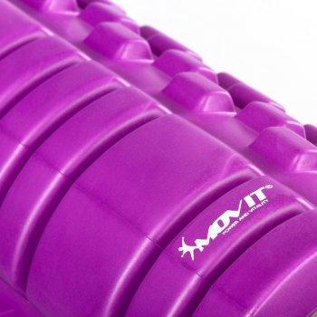 Posilovací masážní válec - FITNESS ROLLER MOVIT fialová