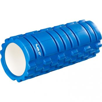 Posilovací masážní válec - FITNESS ROLLER MOVIT modrá M40577