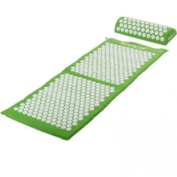 Akupresurní podložka s polštářem MOVIT 130 x 50 cm - zelená