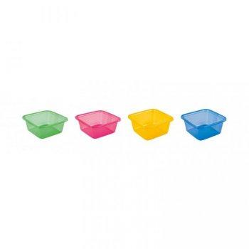 Plastová miska TRANSPARENT 4,5l - MIX CURVER
