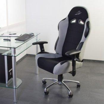 Kancelářská židle RS Series stříbrno-šedo-černá