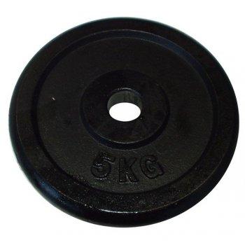 Litinový kotouč (závaží) na činky 5kg