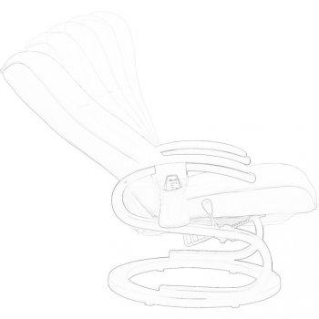 Masážní křeslo STILISTA řady S - barva krémová